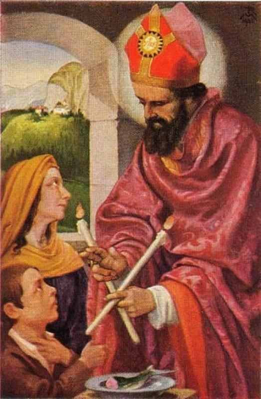 Znalezione obrazy dla zapytania św Błażej